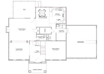 Johnson Spec4 v2013-First Floor Plan